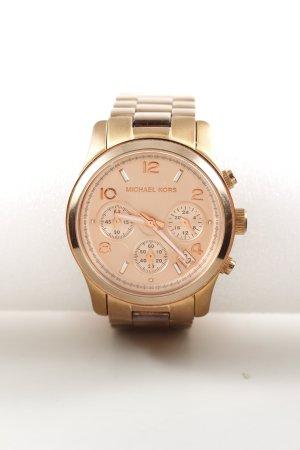 Michael Kors Uhr mit Metallband goldfarben Business-Look