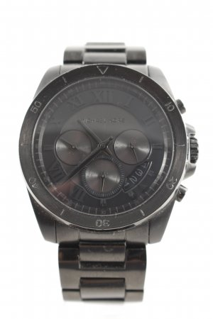 "Michael Kors Watch With Metal Strap ""Brecken Gents Chronograph Black"" black"