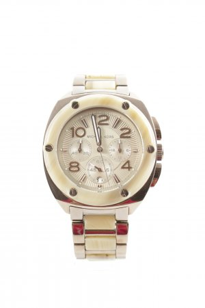 Michael Kors Watch With Metal Strap bronze-colored-camel abstract pattern