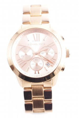 Michael Kors Uhr mit Metallband bronzefarben-roségoldfarben Elegant