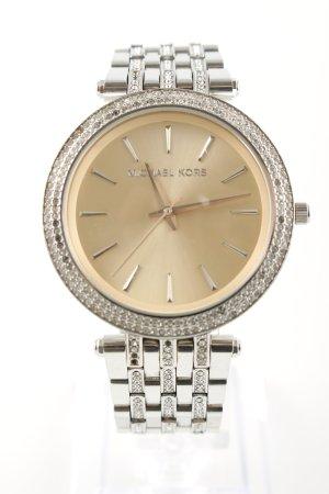 Michael Kors Uhr mit Metallband silberfarben Elegant