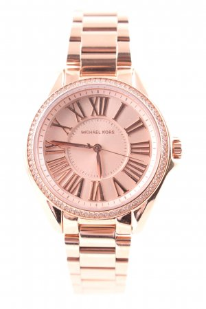 "Michael Kors Uhr mit Metallband ""Gift Set Kacie Ladies Watch Bangle Rosegold-Tone"""