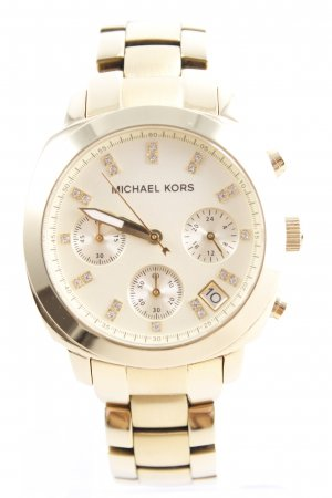 Michael Kors Uhr mit Metallband goldfarben Casual-Look