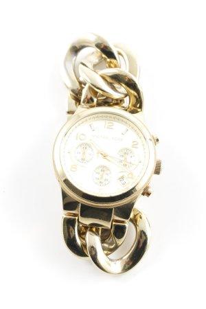 Michael Kors Orologio con cinturino di metallo oro stile casual