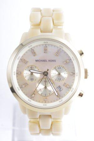 Michael Kors Uhr mit Metallband goldfarben Elegant
