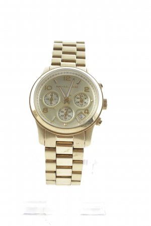 Michael Kors Watch With Metal Strap gold-colored elegant