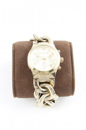 Michael Kors Orologio con cinturino di metallo oro elegante