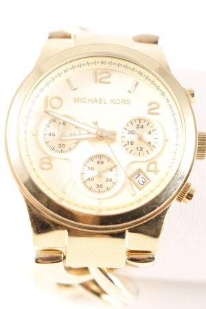 Michael Kors Montre avec bracelet métallique doré style classique