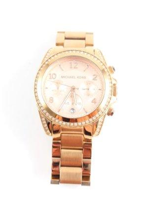 Michael Kors Horloge met metalen riempje goud-rosé elegant