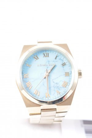 Michael Kors Watch With Metal Strap gold-colored-turquoise casual look