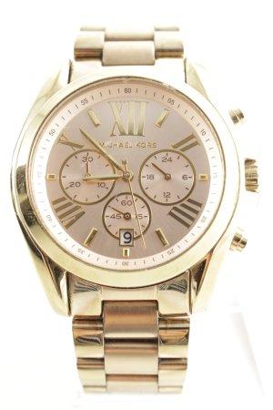 """Michael Kors Montre avec bracelet métallique """"Ladies Bradshaw Chronograph Gold-Tone"""""""