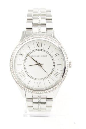 "Michael Kors Watch With Metal Strap ""Ladies Lauryn Watch Silver"""