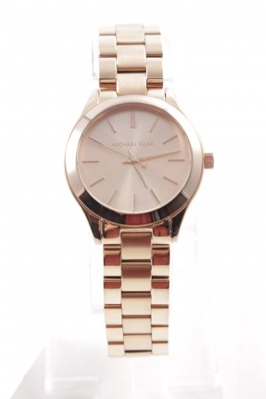"Michael Kors Uhr mit Metallband ""Ladies Slim Runway Watch Rosegold"""
