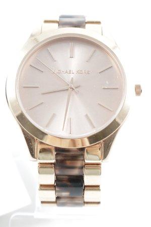 Michael Kors Horloge met metalen riempje veelkleurig elegant