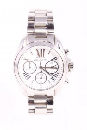 "Michael Kors Uhr mit Metallband ""Mini Bradshaw Silver-Tone Watch"""