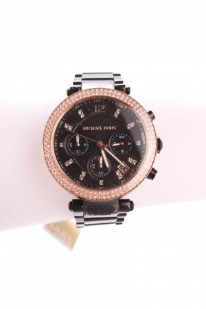 "Michael Kors Uhr mit Metallband ""Parker Watch Black"""