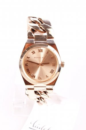 Michael Kors Uhr mit Metallband roségoldfarben-goldfarben Eleganz-Look
