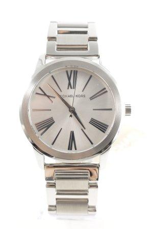 "Michael Kors Orologio con cinturino di metallo ""Runway Stainless Steel Silver-Tone Watch"""