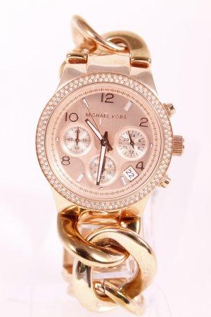 "Michael Kors Uhr mit Metallband ""Runway Twist Rosé Watch"" roségoldfarben"