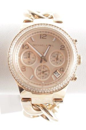 """Michael Kors Montre avec bracelet métallique """"Runway Twist Rosé Watch"""""""