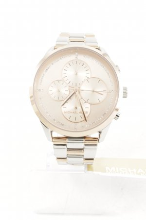 "Michael Kors Uhr mit Metallband ""Slater Jetset Watch Silver/Rosegold"""