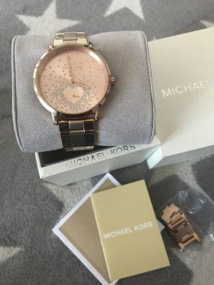 Michael Kors Uhr MK 3621 Roségold Glitzer Herz 329€