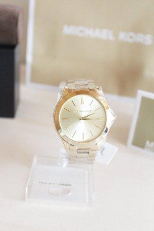 Michael Kors Analoog horloge goud Edelstaal