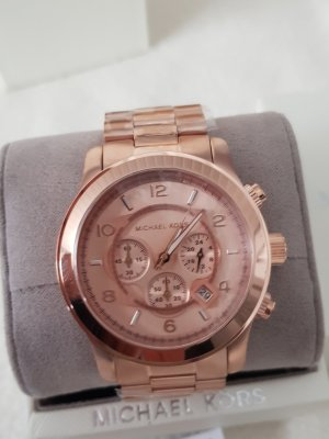 Michael Kors Reloj analógico color rosa dorado acero inoxidable