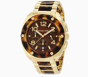Michael Kors Reloj analógico color bronce acero inoxidable