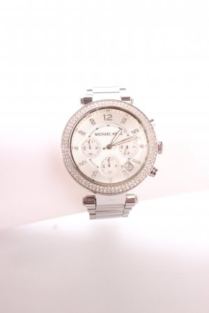 "Michael Kors Uhr ""Park Silver Tone-Watch"" silberfarben"