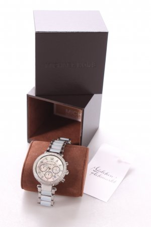 "Michael Kors Uhr ""Parker Two Tone Chrono Watch"" silberfarben"
