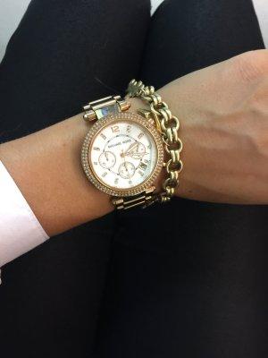 Michael Kors Orologio con cinturino di metallo rosa pallido
