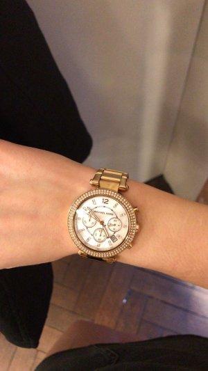 Michael Kors Montre avec bracelet métallique or rose