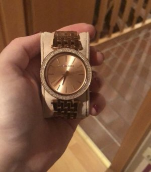 Michael Kors Watch pink-rose-gold-coloured