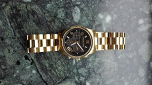 Michael Kors Uhr schwarzes Zifferblatt