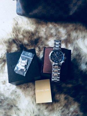 Michael Kors Uhr Silber/blau