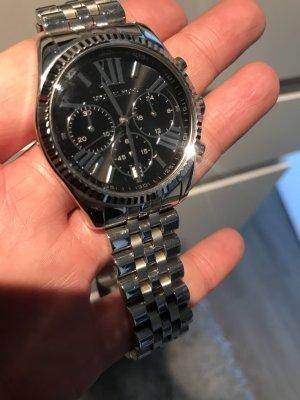 Michael Kors Uhr Silver schwarz