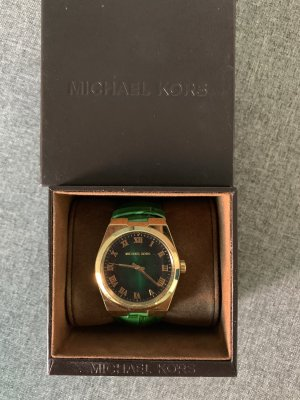 Michael Kors Uhr / ungetragen / grün-gold