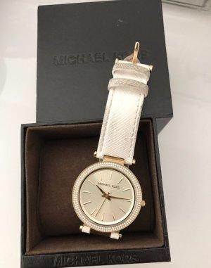 Michael Kors Uhr Weiß Gold