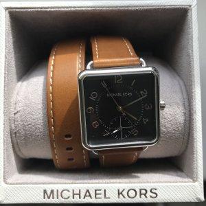 Michael Kors Orologio marrone-nero Pelle