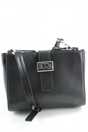 "Michael Kors Umhängetasche ""Bond MD Messenger Leather Black"" schwarz"