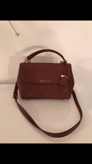 Michael Kors Umhängetasche cross in rot gold