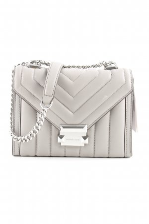"Michael Kors Sac bandoulière ""Whitney SM Shoulder Bag Pearl Grey"""