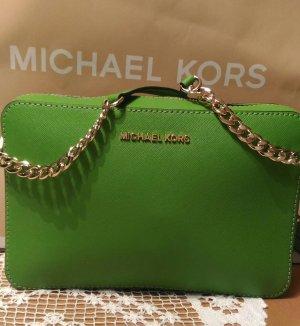 Michael Kors Custodia per cellulare verde Pelle