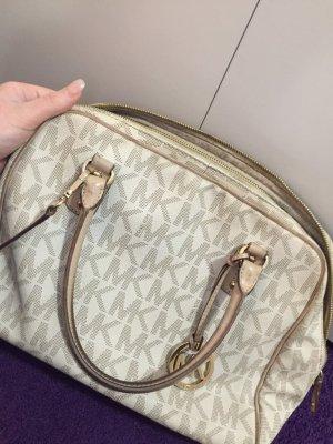 Michael Kors Vanilla Satchel Bag