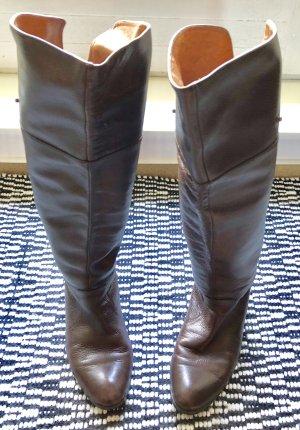 Michael Kors Vintage Lederstiefel im Braun. Guter Zustand!