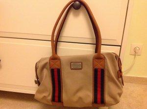 Michael Kors Vintage Tote Bag Canvas & Leder Handtasche