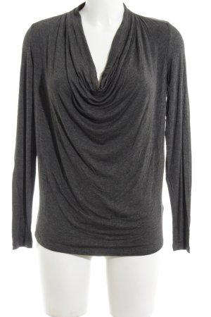 Michael Kors Cowl-Neck Shirt light grey casual look