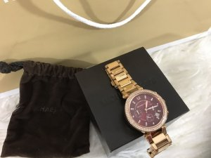 Michael Kors Self-Winding Watch sand brown-bordeaux