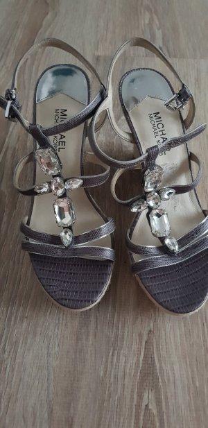 Michael Kors Wedge Sandals grey